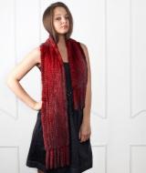 Норковые шарфы
