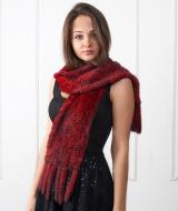 Меховые шарфы шириной от 10 до 30 см