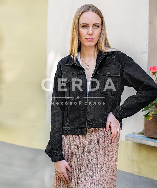 Джинсовая куртка Классика черная