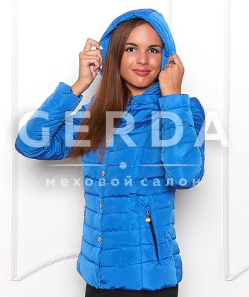 Куртка с капюшоном утепленная Модель 022