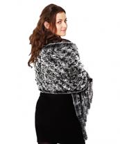 меховой шарф эстер